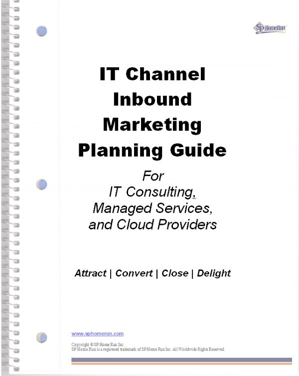 Download Your Free IT Channel Inbound Marketing Planning Guide