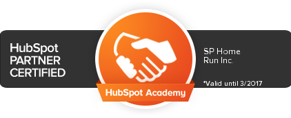 HubSpot Certified Partner - SP Home Run