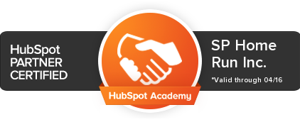 SP Home Run HubSpot Partner Certified