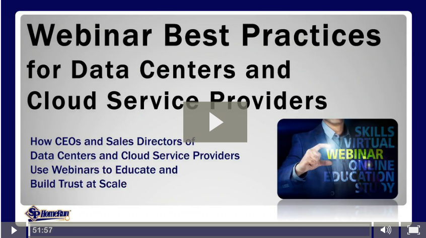 "Watch: ""Webinar Best Practices for Data Centers and Cloud Service Providers"""