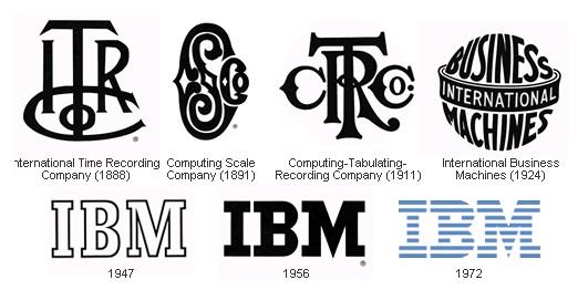 10 Awesome Computer Company Logos To Inspire You IBM
