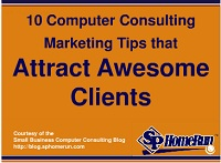 10 Computer Consulting Marketing Tips that Attract Awesome Clients Video and Transcript