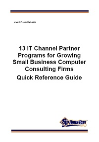 13 IT Channel Partner Programs