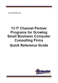 13 IT Channel Partner Programs