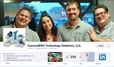ConvexSERV Technology Solutions, LLC. (Forked River, NJ, USA)