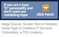 IT Services Company Nails Anti Marketing Hype Website Copy