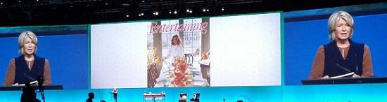 The theme of Martha Stewart's talk was on the Art of Building a Brand – something that HubSpot has done a masterful job with over the past eight years.
