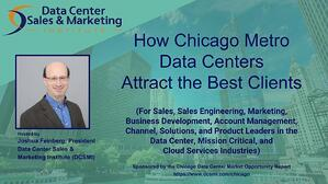 "Complete the form on this page to get access to the webinar recording ""How Chicago Metro Data Centers Attract the Best Clients."""